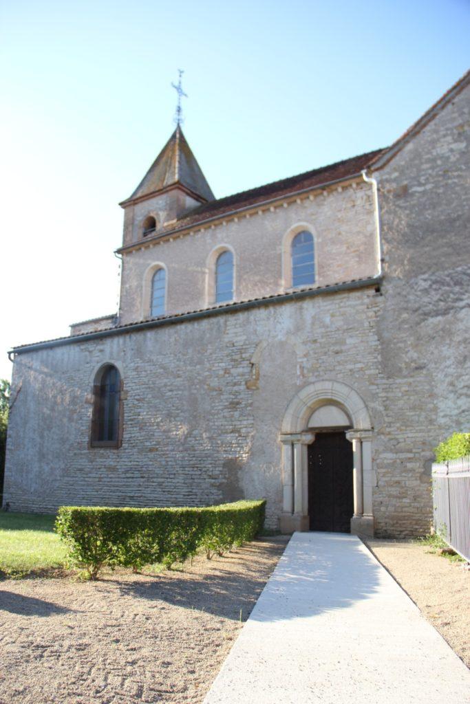 Église Cortevaix entrée