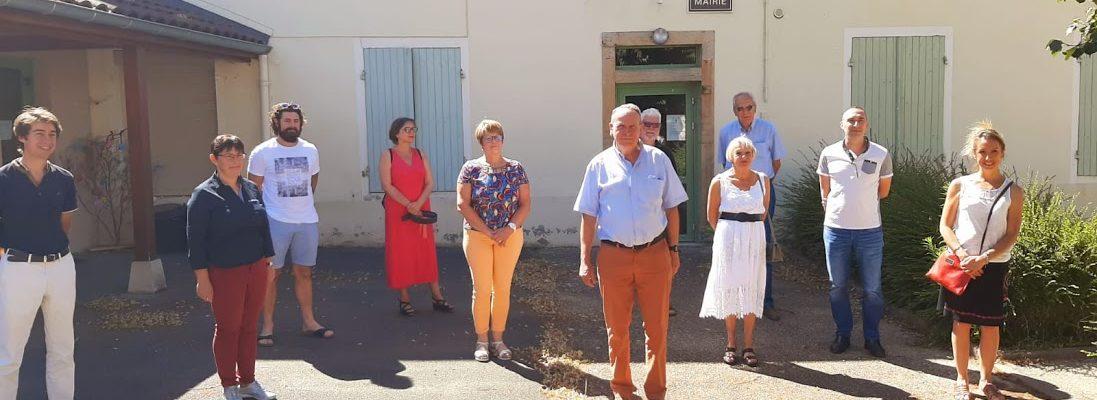 Conseil Municipal Cortevaix - 4 juillet 2020, à l'issue de la première réunion du Conseil Municipal