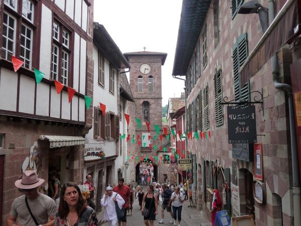 La rue principale de St-Jean-Pied-de-Port