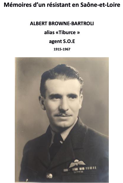 Mémoires d'Albert Browne Bartroli